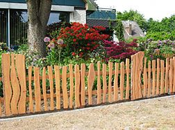 gartenzaun fences n trellis works fence. Black Bedroom Furniture Sets. Home Design Ideas