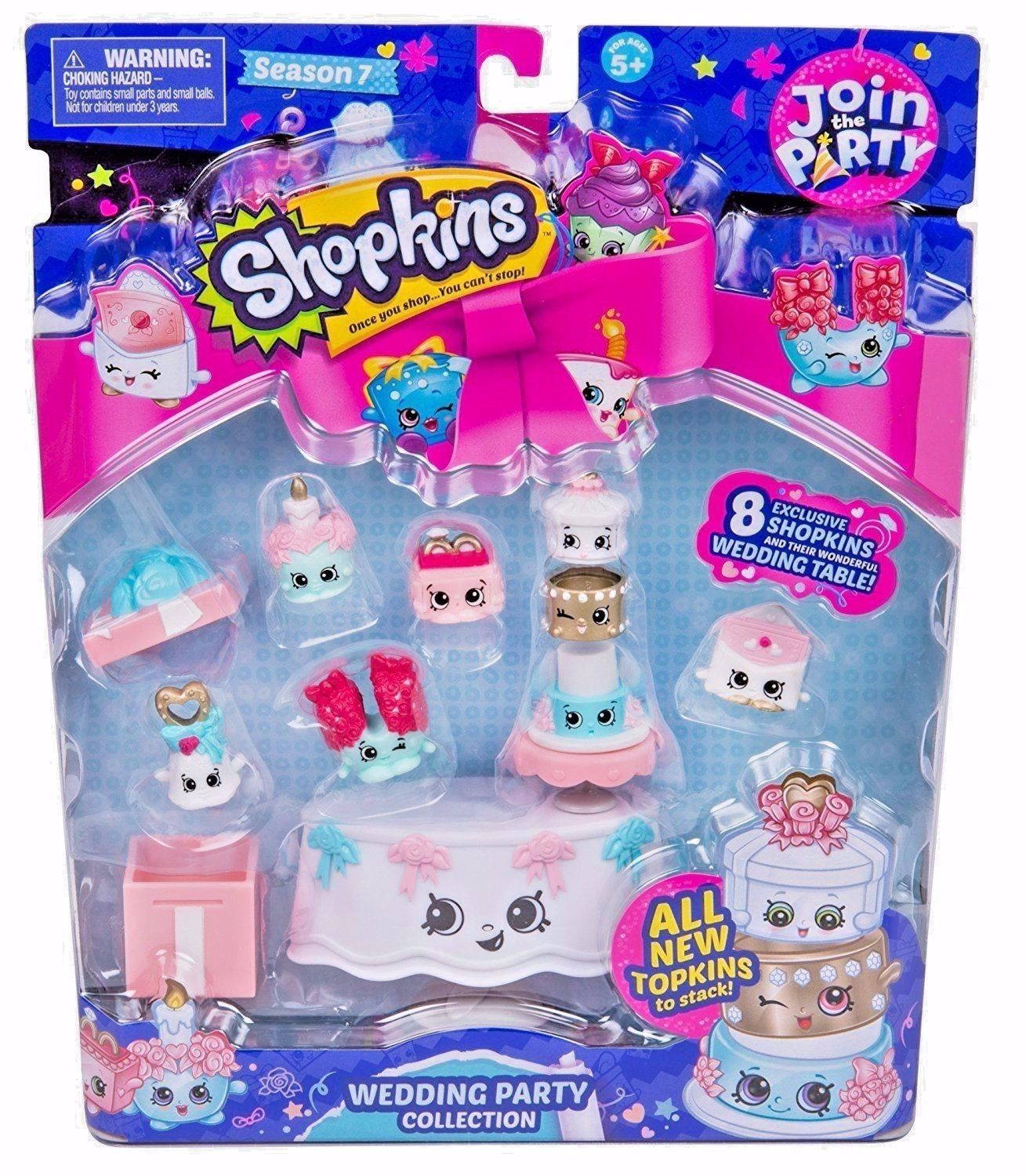 Shopkins Season 7 Princess Party Collection Including Topkins