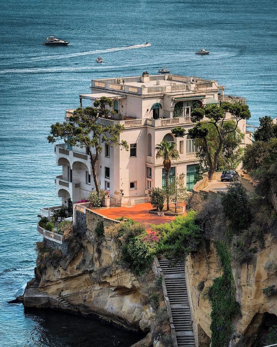 Seafront Residence in Naples, Italy 📷 paolo.schiano