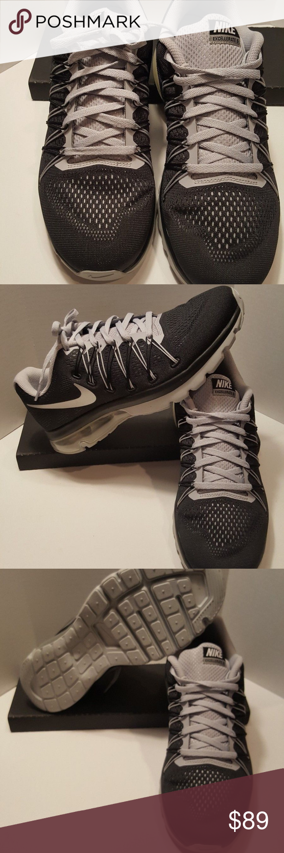 315dbbe34cbae Nike Air Max Excellerate Sz 8 852692 001 Brand new Nike air max excellerate  5. Very awesome looking shoe. Men s size 8 women s 10.