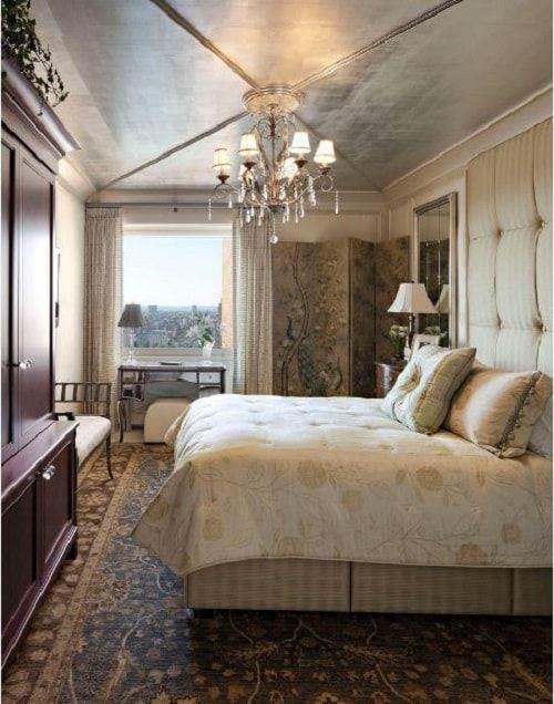 Futuristische Und Luxuriöse Silber Gold Schlafzimmer Ideen #futuristische # Ideen #luxuriose #schlafzimmer #silber