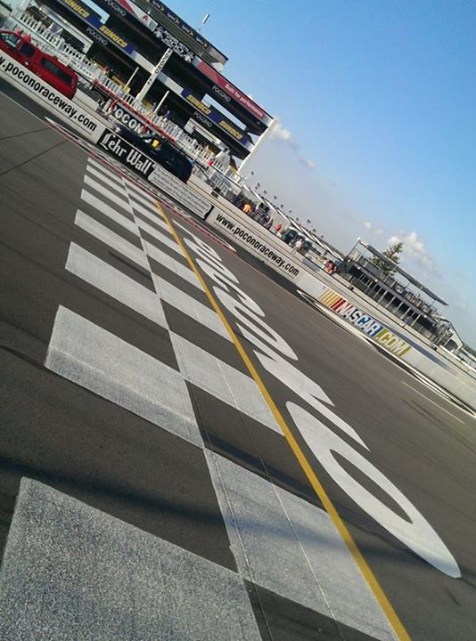 nas Only one driver can conquer the Tricky Triangle. Who will finish their day off in victory lane