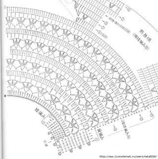 круглая кокетка крючком схемы 25 тыс изображений найдено в яндекс