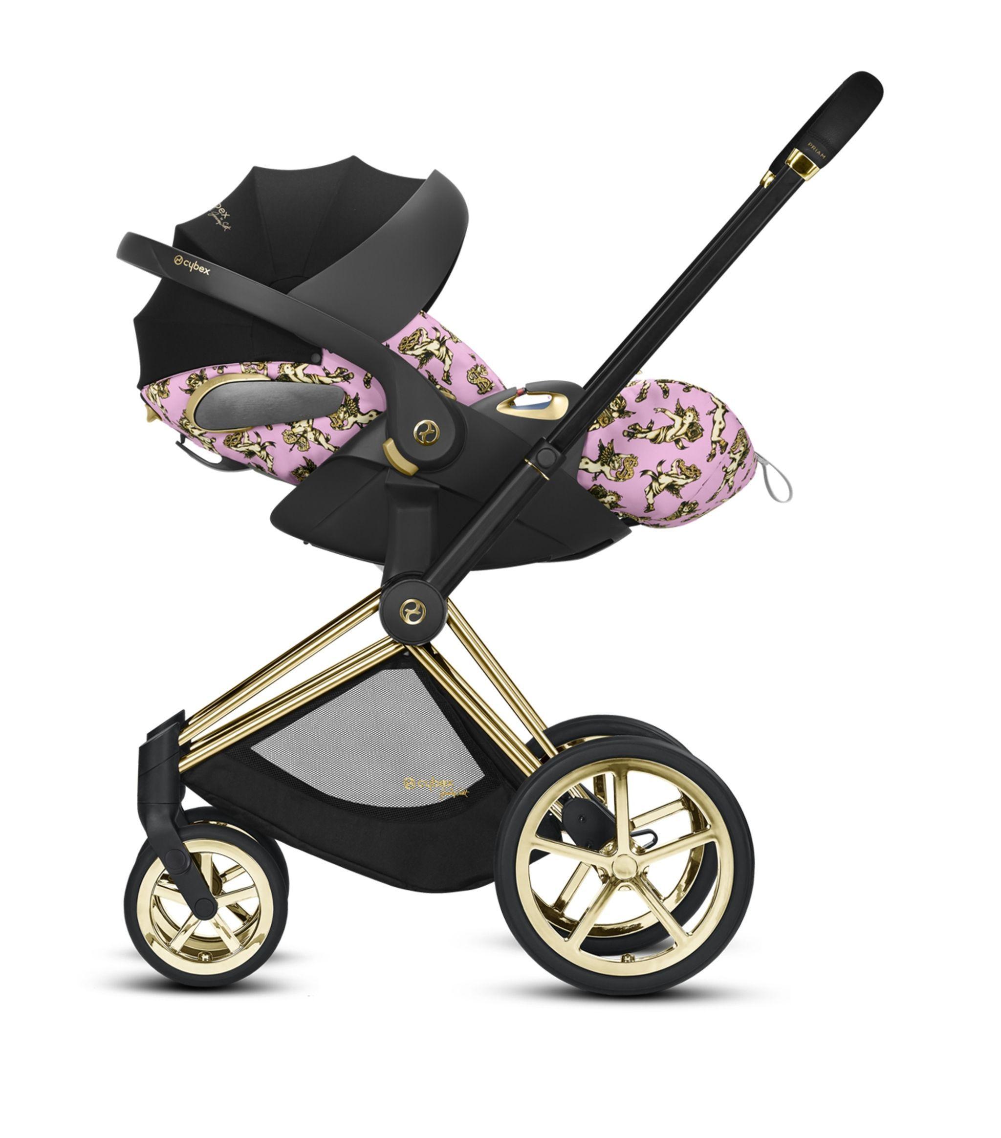 Cybex pink x Jeremy Scott Cherub Cloud Z iSize Car Seat