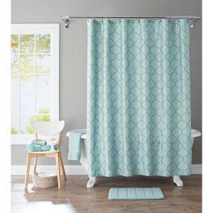 Threshold Microfiber Shower Curtain Liner