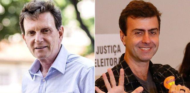 Marcelo Crivella e Marcelo Freixo (Foto: Arquivo Google)