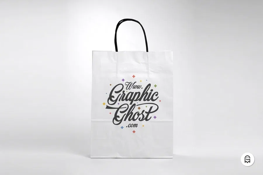 Download Free Paper Bag Mockup Graphic Ghost In 2020 Bag Mockup Free Paper Mockup Free Psd