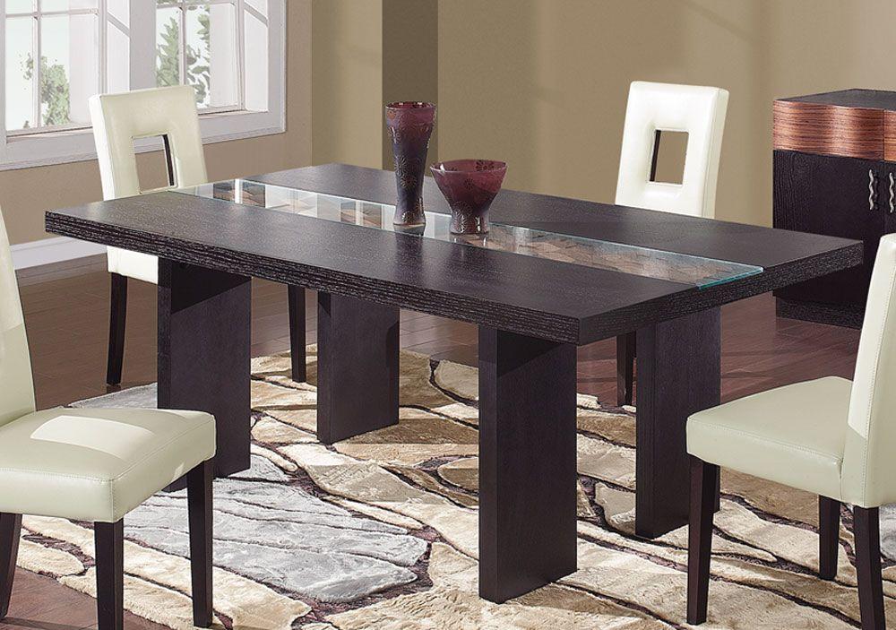 Global Furniture Usa Amanda Dining Table Modern Dining Room Tables Modern Dining Room Modern Dining Table
