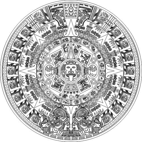 Https 3axis Co Aztec Calender Svg File R1z208w1 Aztec Art Aztec Calendar Marquesan Tattoos