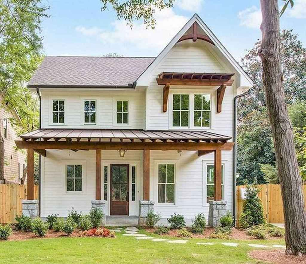 35 Stunning White Farmhouse Exterior Design Ideas Best Home Decorating Ideas Page 11 In 2020 White Farmhouse Exterior Exterior House Renovation Facade House