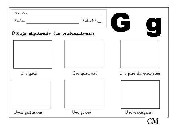 Ejercicios español primer grado primaria para imprimir - Imagui