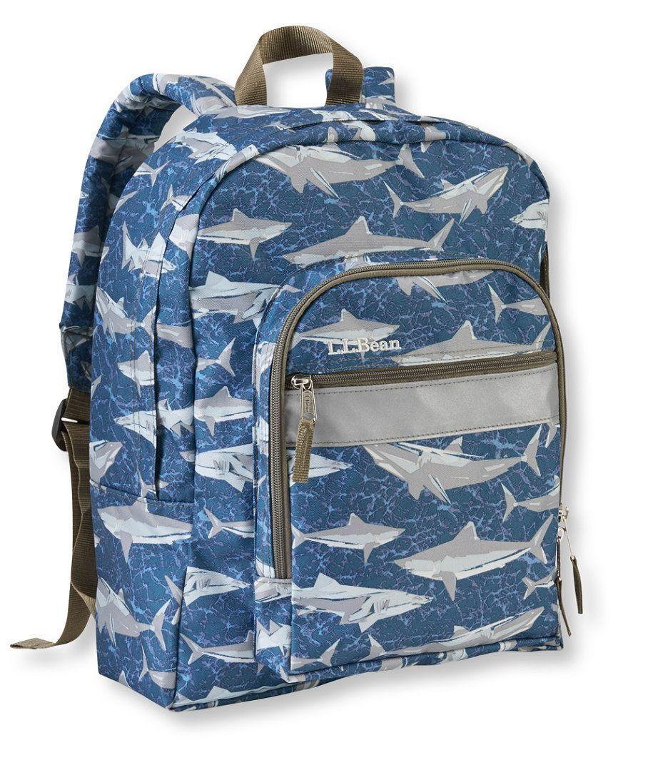 L.L.Bean Original Book Pack, Print   Boys backpack   Boys backpacks ... 15770aff5c