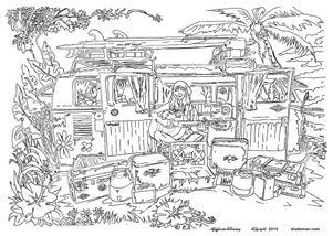 Malvorlage Auto Mit Wohnwagen Camping Kostenlose Ausmalbilder Malvorlage Auto Ausmalen Ausmalbilder