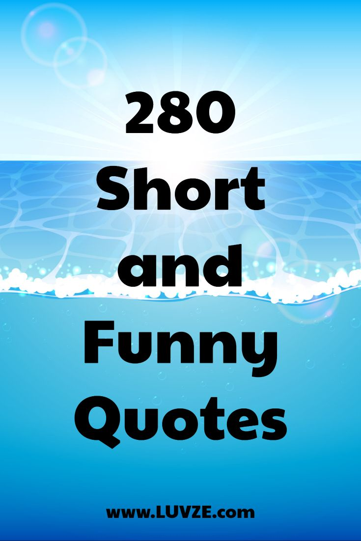 280 Short Funny Quotes and Sayings   Short funny quotes ...