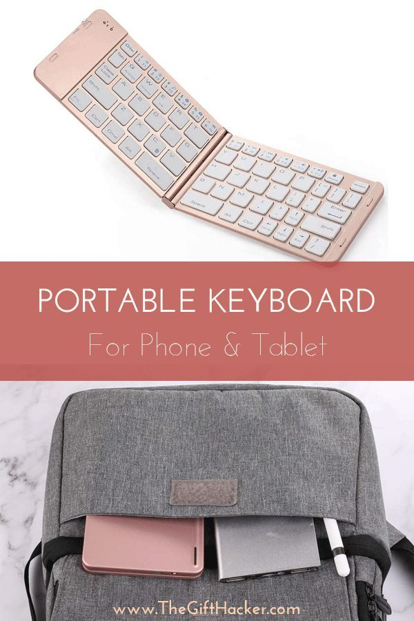 Portable Keyboard For Phone & Tablet - Great Tech Gadget For Her