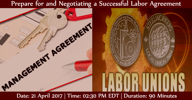 Webinar On Prepare For And Negotiating A Successful Labor