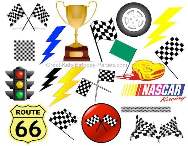 Free Cars Fonts & Clip-art | Cars Birthday Party Ideas | Pinterest ...