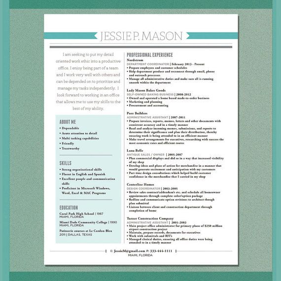 Items similar to Custom Resume Design on Etsy Career Pinterest - customs specialist sample resume