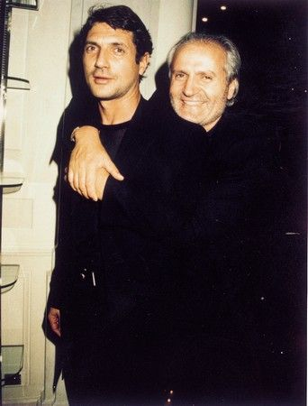 Image result for gianni versace and antonio d'amico