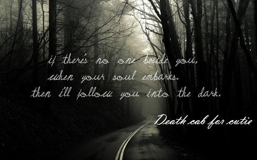Dark Suicide Quotes: If There No One Beside You When Your Soul Embarks Then Ill