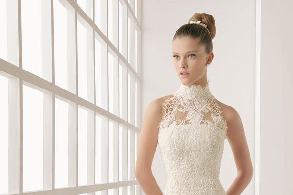 tipos de escote del vestido de novia