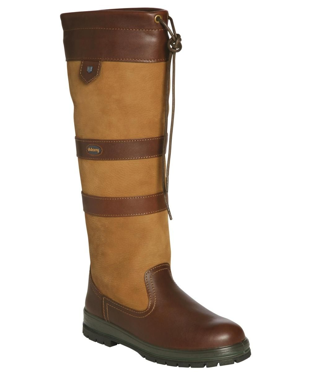 Ladies Leather Country Boots - Dubarry Galway Boot, Brown buy online -  Country Clothing |