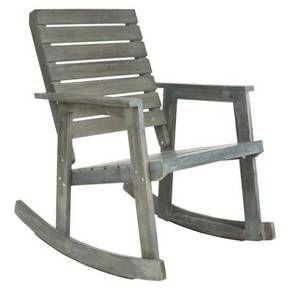 Geneva Wood Patio Rocking Chair : Target.