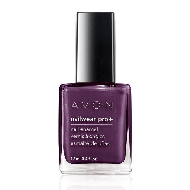 Nailwear Pro+ Nail Enamel | AVON For more Avon Makeup go to my website wwww.youravon.com/ealkafi #makeup #nailart #nailpolish #makeupartist #makeupblogger #makeuplover #nails #pretty #purple