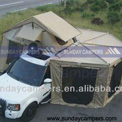 Source diy roof top tent / diy awning / off-road car roof awning on