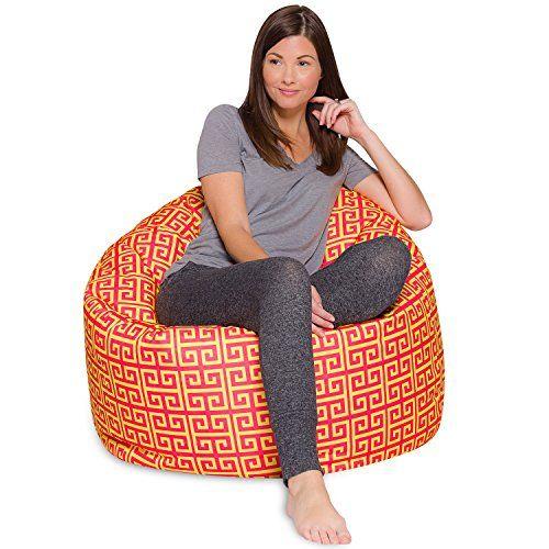 "Posh Bean Bag Chair for Children, Teens & Adults - 35"", S ..."