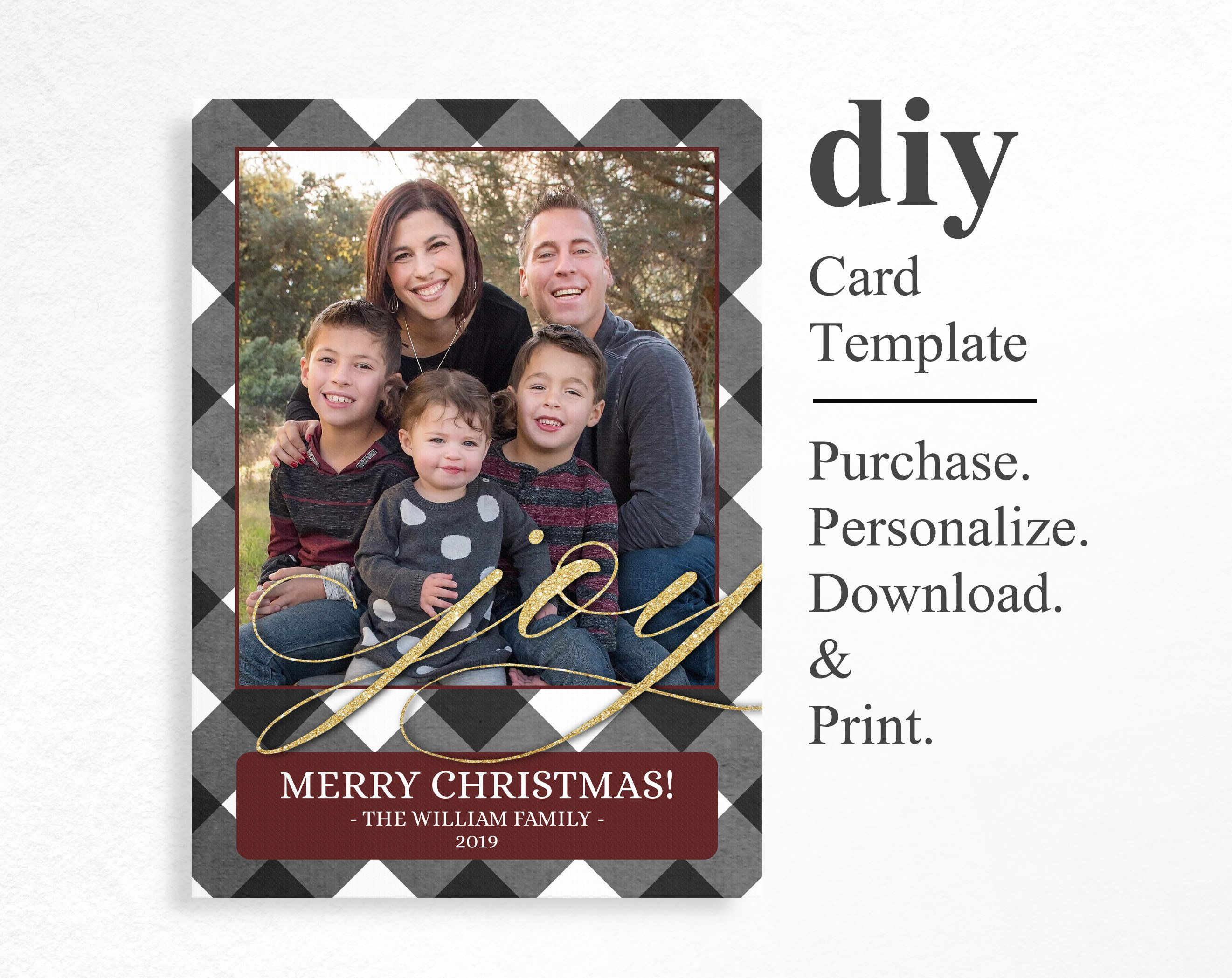 This Item Is Unavailable Etsy Christmas Card Template Joy Christmas Card Christmas Cards