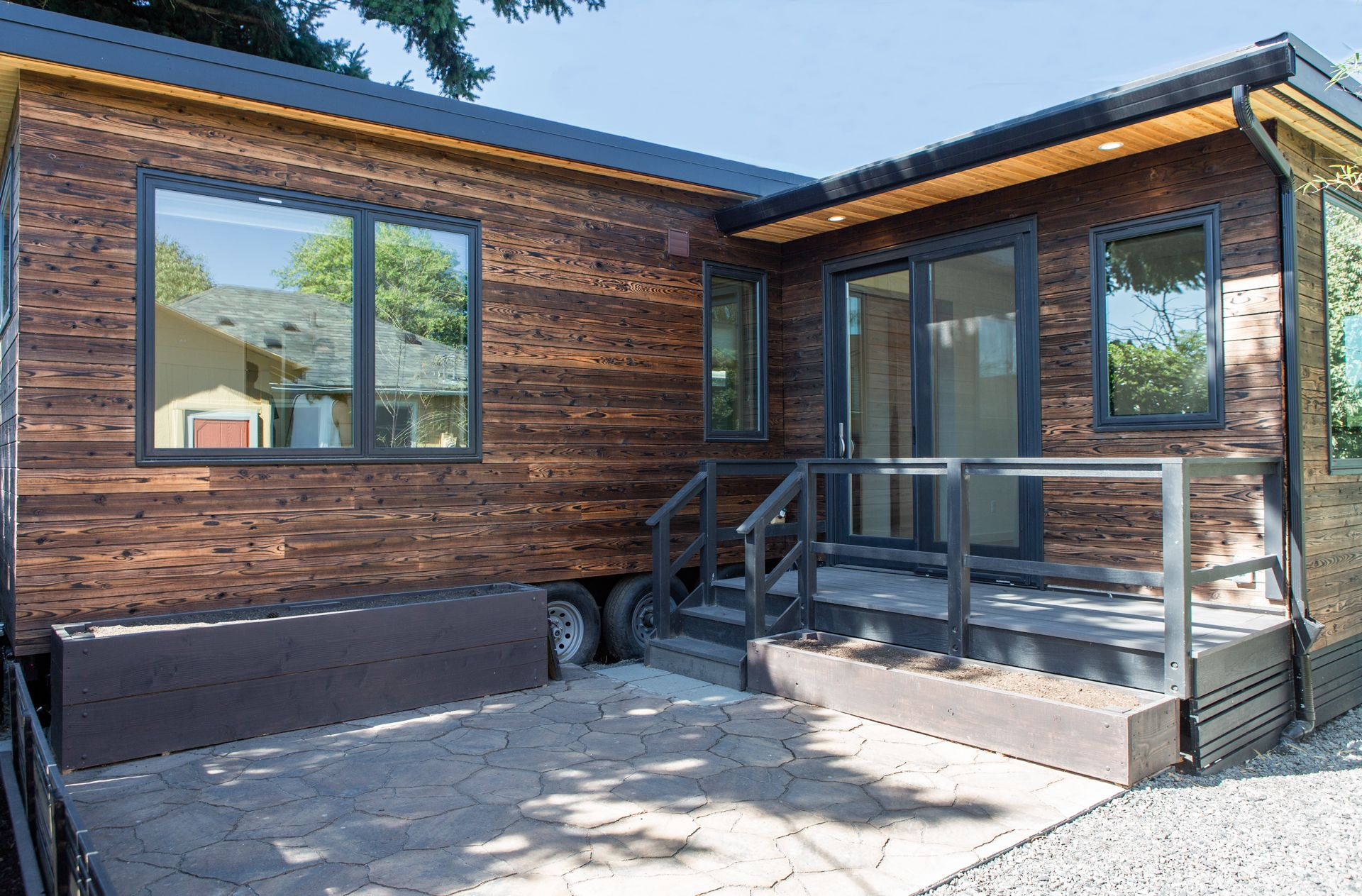 A Residence Tiny Home Adu Portland Or Gendai In 2020 Tiny