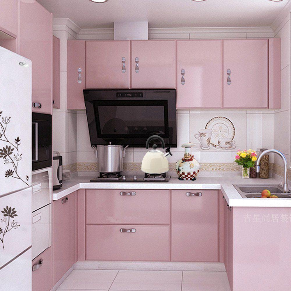 Robot Check Pink Kitchen Kitchen Cupboard Doors Kitchen Cupboards
