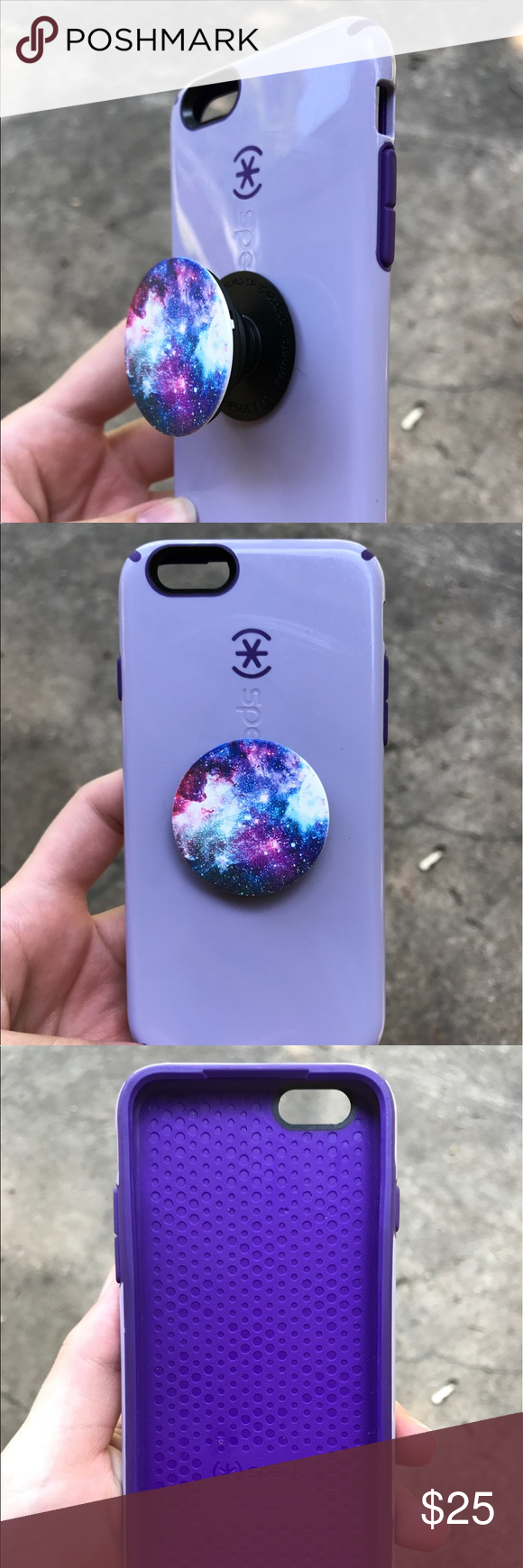promo code 0fb03 a3ccd Speck iPhone 6/6S Case Purple speck case for iPhone 6/6S with galaxy ...