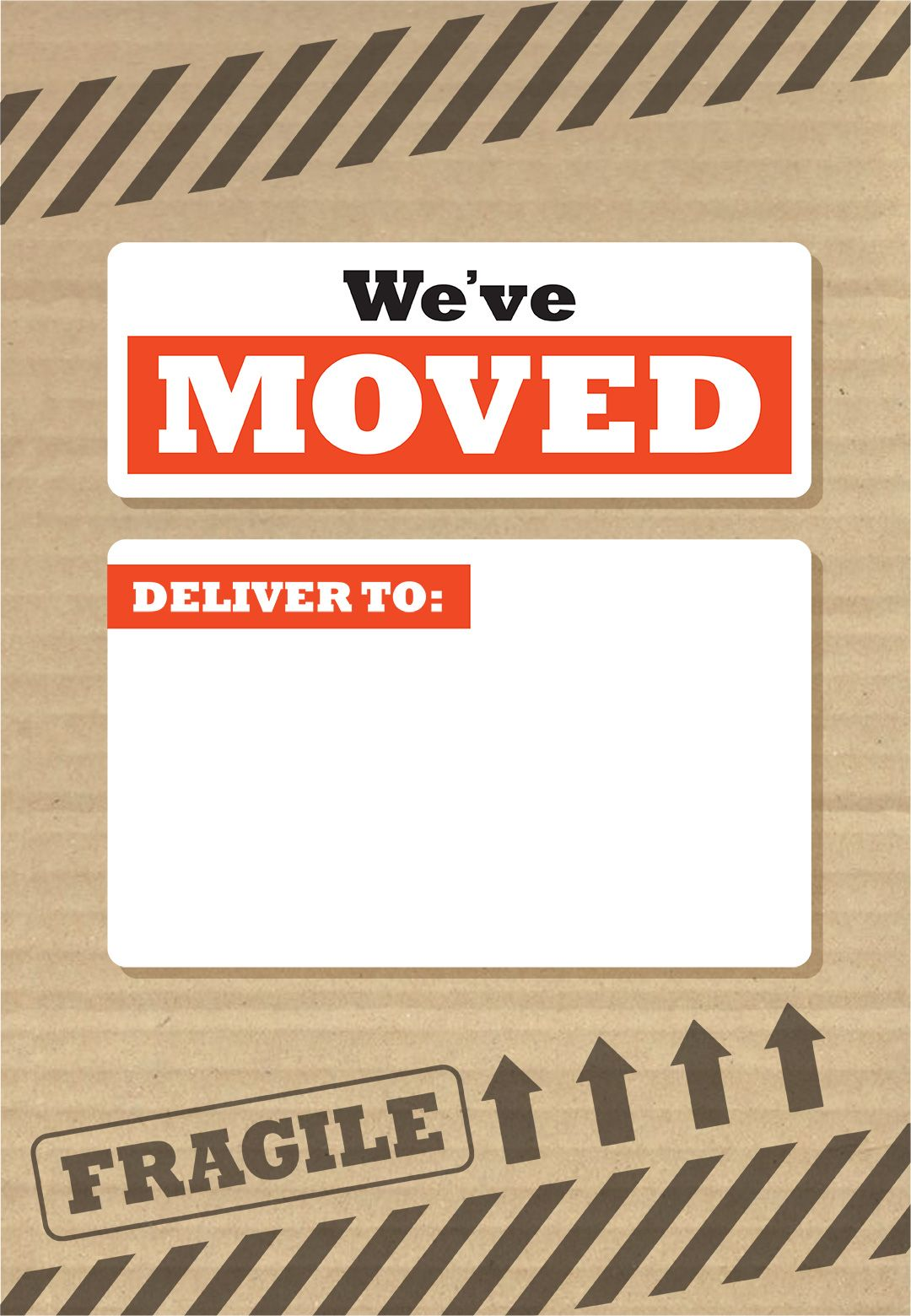 Weve moved box free printable moving announcement template weve moved box free printable moving announcement template greetings island maxwellsz