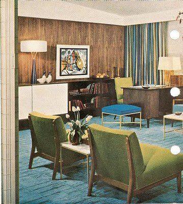 Best 50 S Interior Mid Century Modern Interiors Mid Century 400 x 300