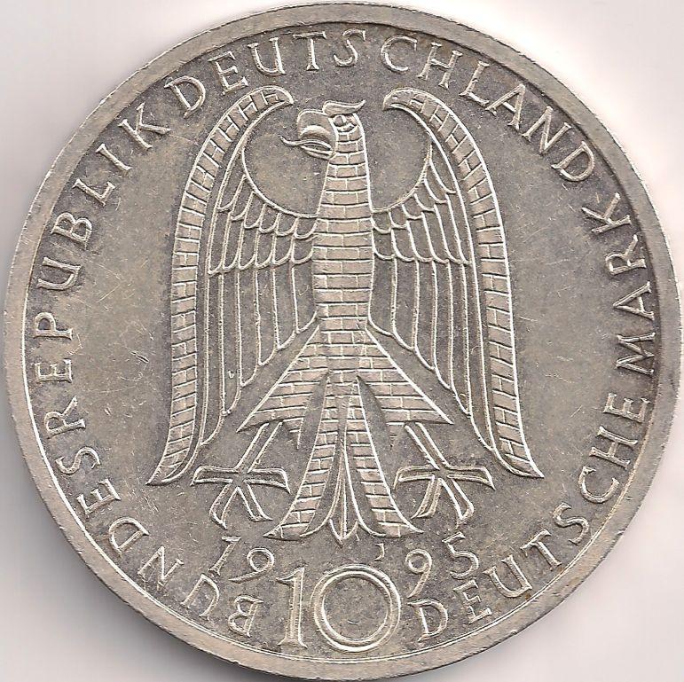 Wertseite Munze Europa Mitteleuropa Deutschland Deutsche Mark