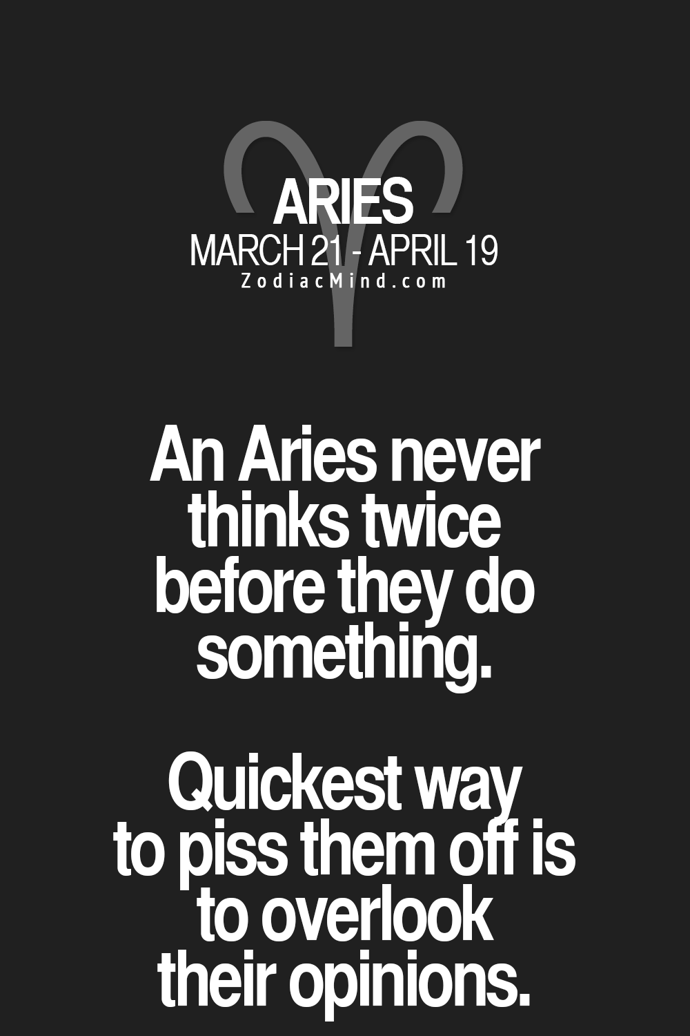 Zodiac Mind - Your #1 source for Zodiac Facts   Aries