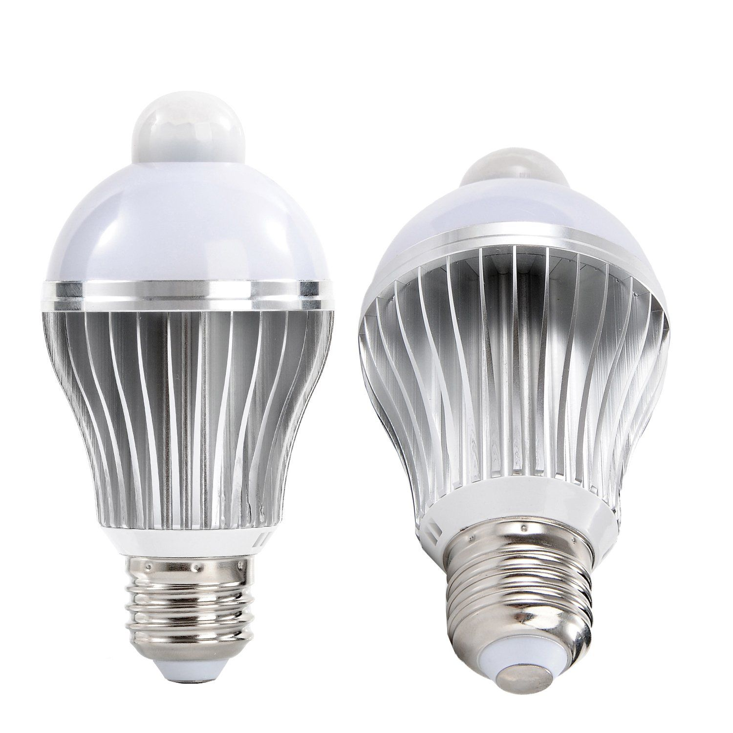 iThird E26 7W LED Motion Sensor Light Bulb PIR Infrared Indoor ...