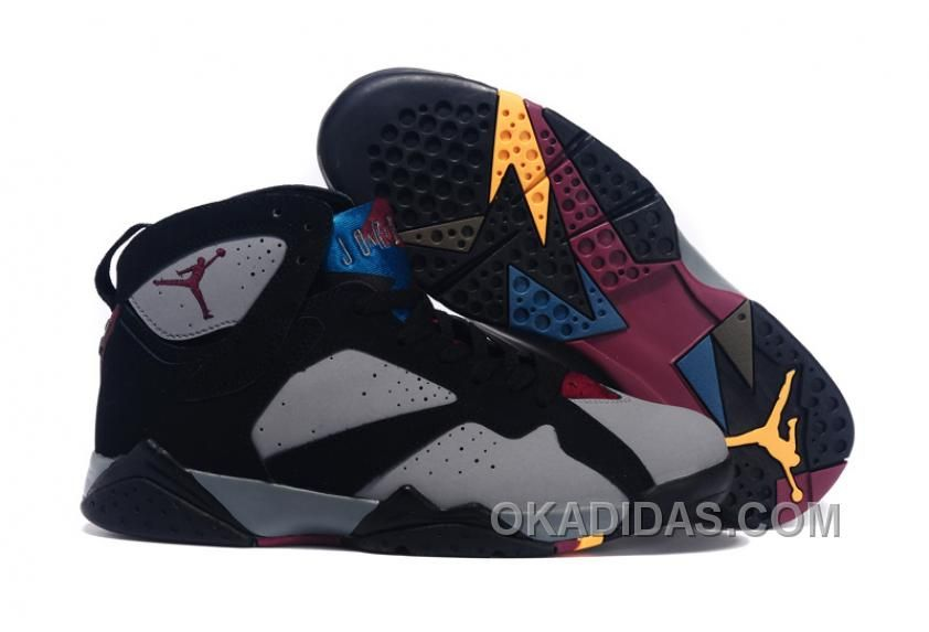 e4faceacf16907 AIR JORDAN RETRO 7 BLACK BLUE BROWN AUTHENTIQUE    69.00