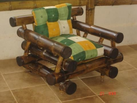 Muebles de bamb para sala pinteres - Muebles de bambu ...