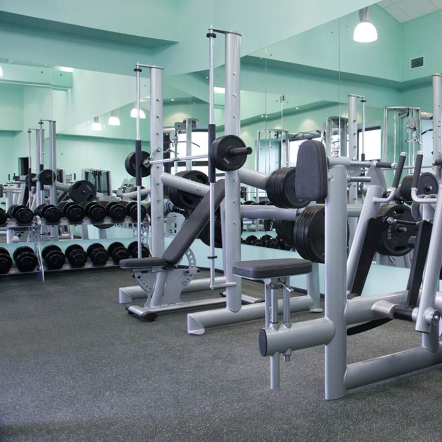 The geneva interlocking rubber tile is an excellent option for large the geneva interlocking rubber tile is an excellent option for large scale commercial gym flooring dailygadgetfo Gallery