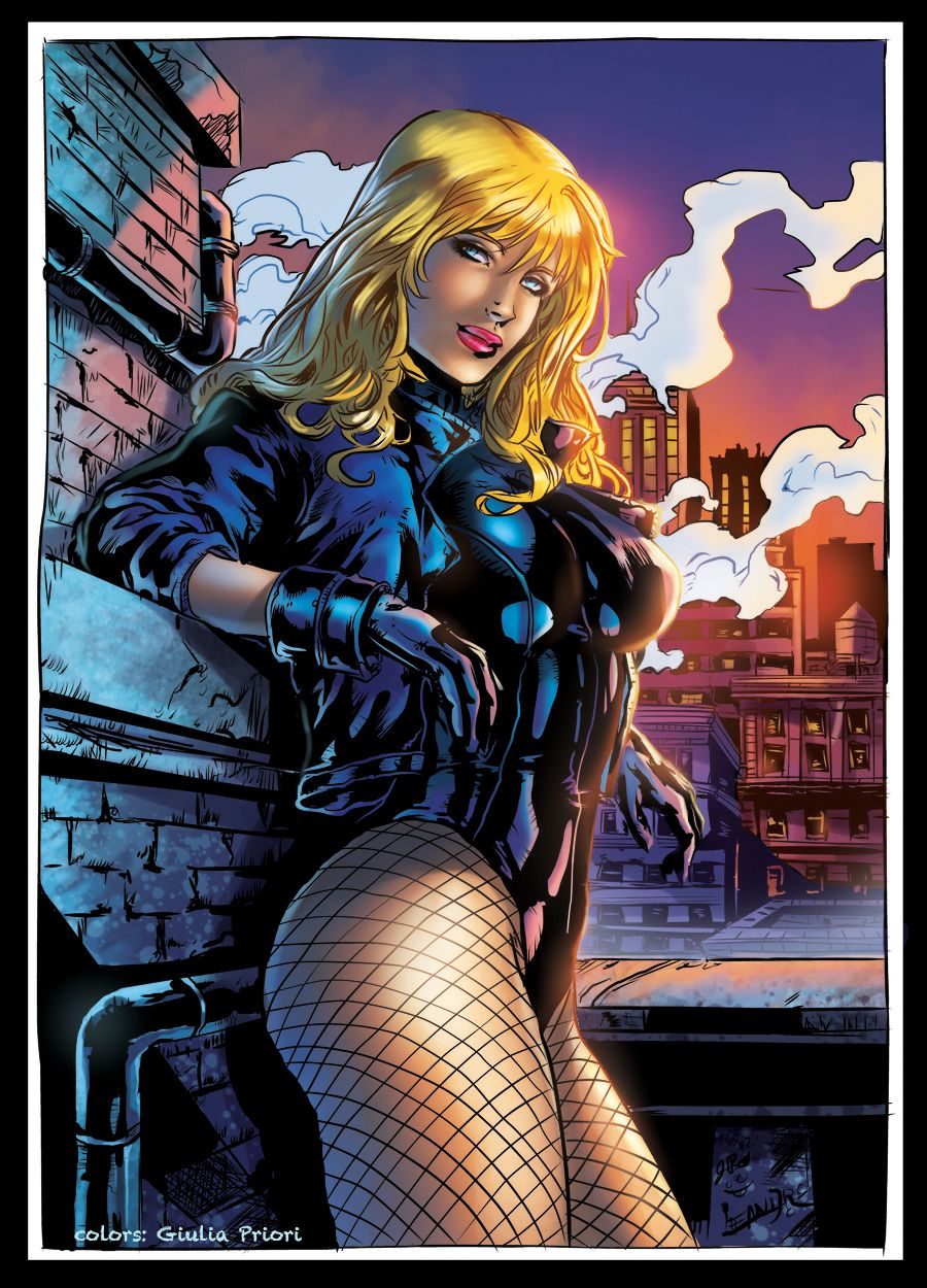 black-canary-erotic
