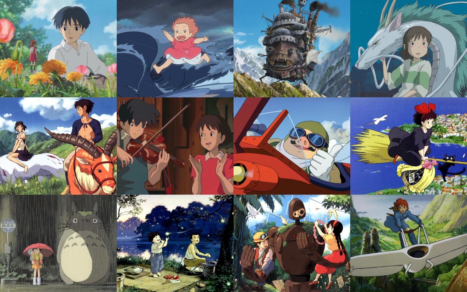 In the Frame Film Reviews Studio Ghibli Desktop Wallpaper