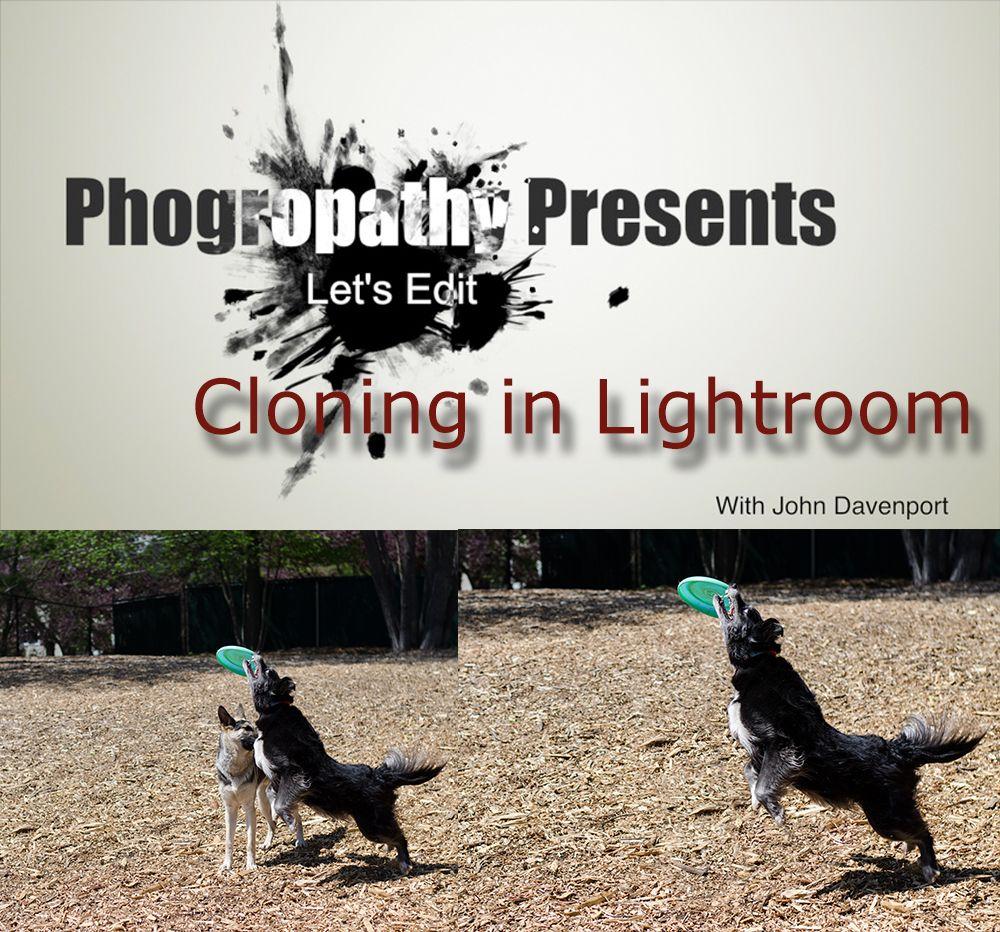 Cloning in lightroom