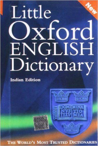 Little Oxford English Dictionary English Dictionaries Oxford English English Book