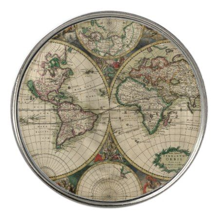 Ancient world map golf ball marker tap personalize buy right now ancient world map golf ball marker tap personalize buy right now gumiabroncs Gallery