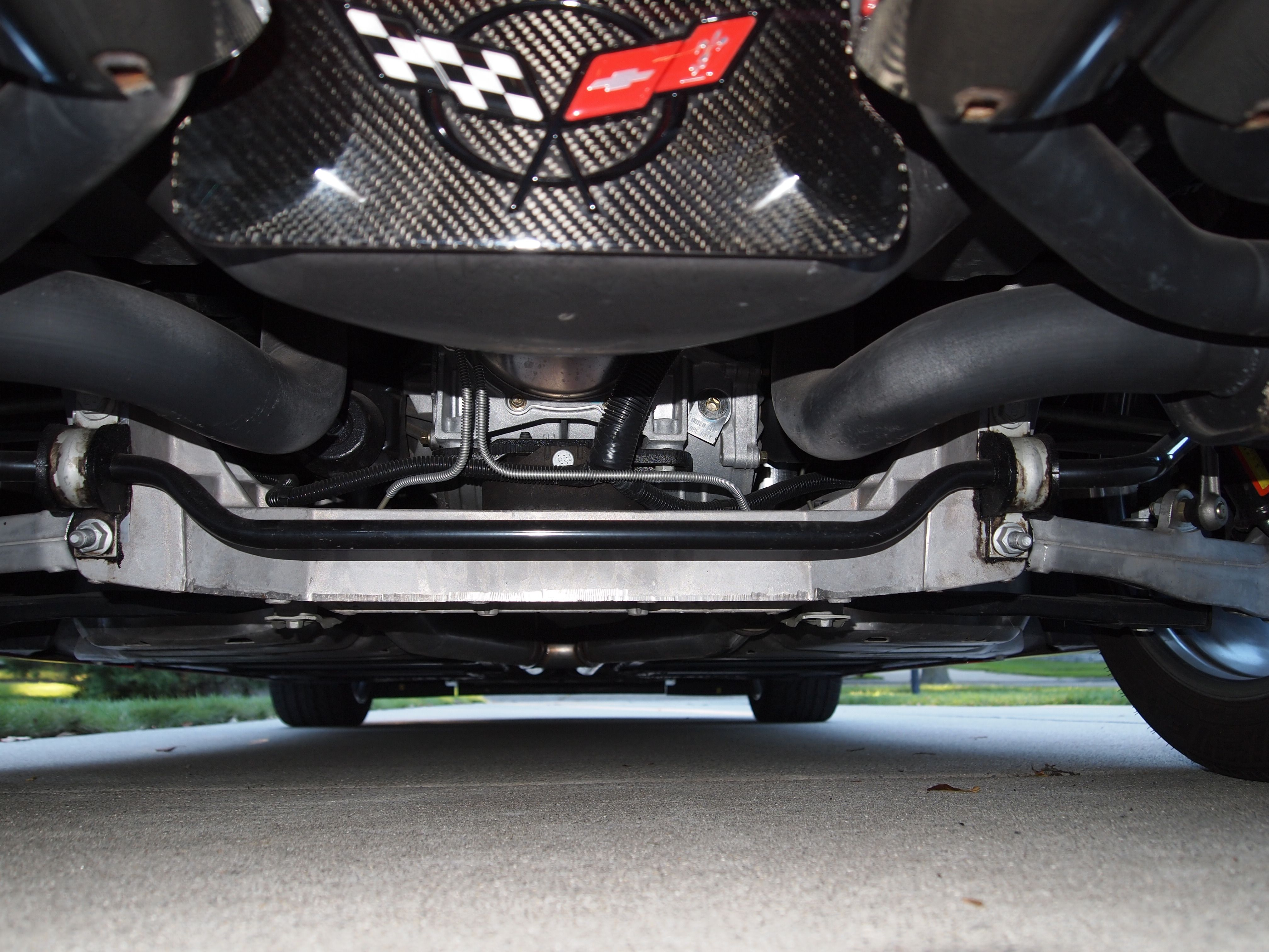 Amazing Condition Of The Undercarriage For A Car That Is 12 Years