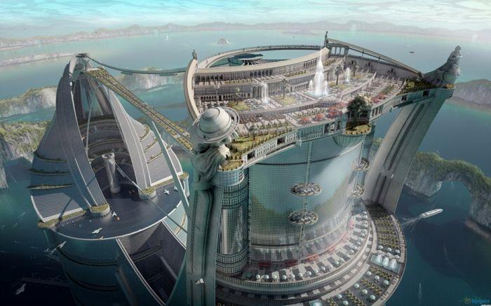 32 Visionen und Zukunftsmodelle für moderne Architektur #arquitectonico