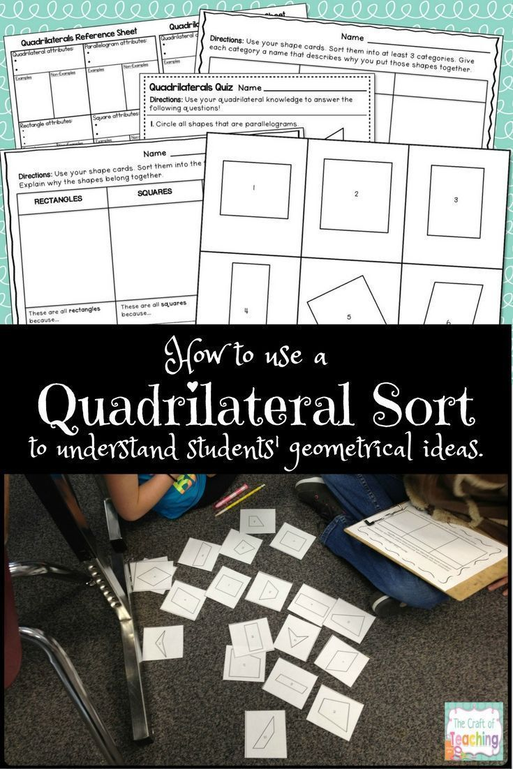 worksheet Quadrilateral Sort Worksheet quadrilateral fun students maths and geometry worksheets fun